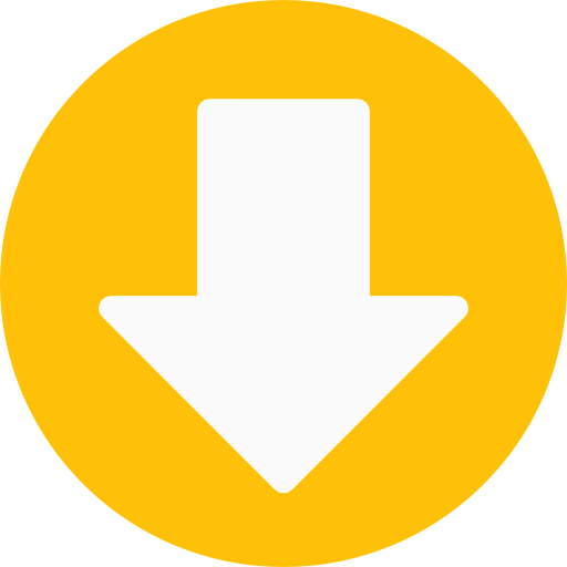 down arrow yellow